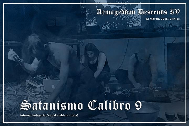 Satanismo Calibro 9 live